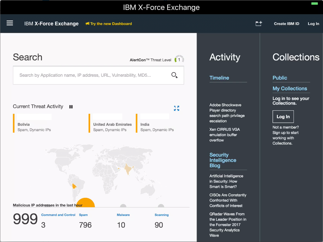 IBM X Force Exchange